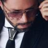 Hoodtie - Edition limitée - Bijou de cravate en titane