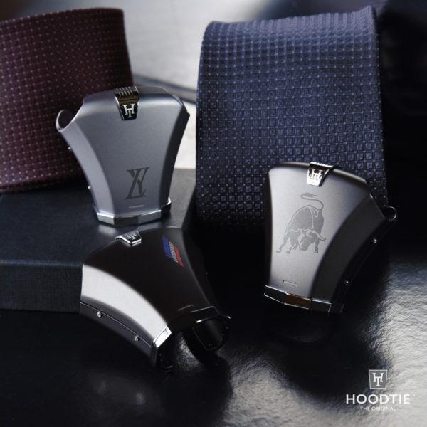 Modèles personnalisés de l'accessoire de cravate hoodtie