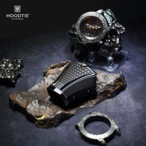 Rencontre de deux mondes autour de la météorite: la haute horlogerie et le Hoodtie Edition limitée