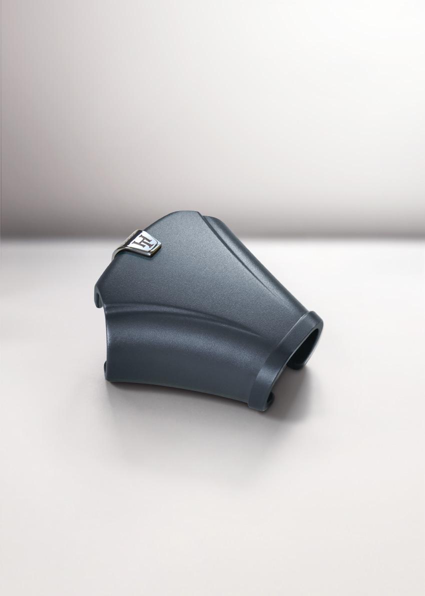 Hoodtie- necktie accessory grey
